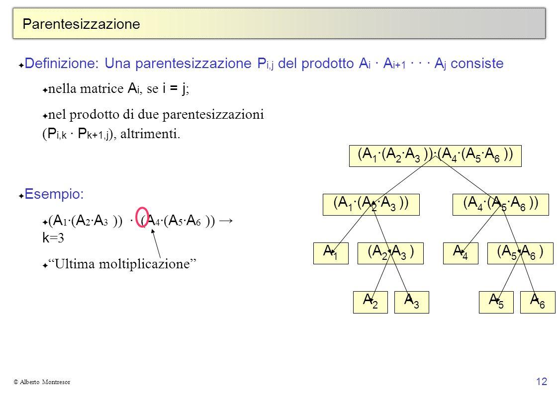 nella matrice Ai, se i = j;
