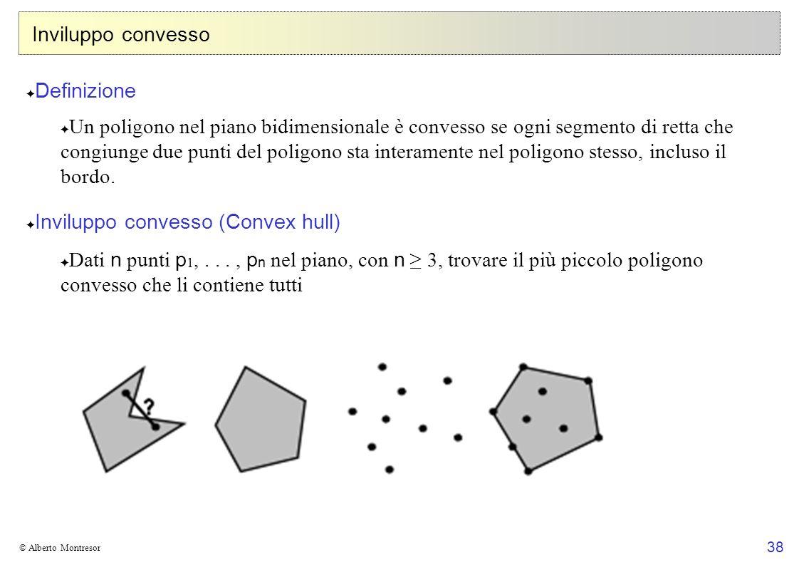 Inviluppo convesso (Convex hull)
