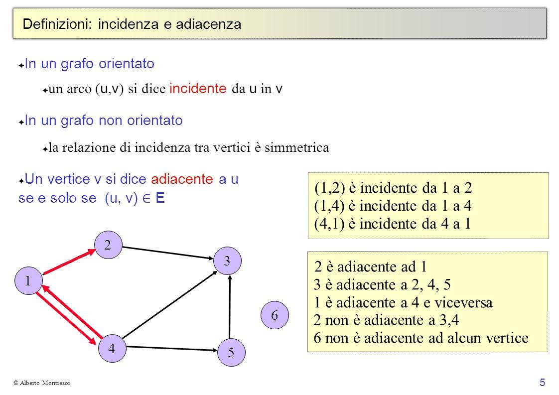 Definizioni: incidenza e adiacenza