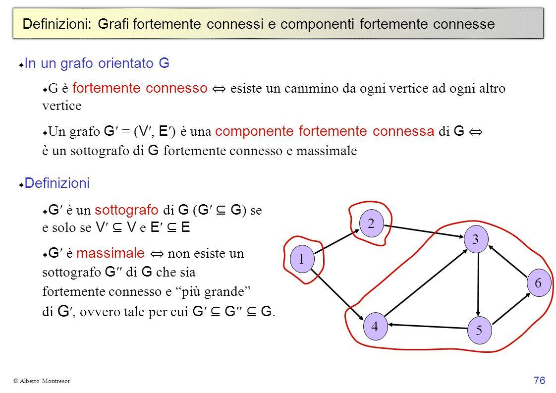G′ è un sottografo di G (G′ ⊆ G) se e solo se V′ ⊆ V e E′ ⊆ E