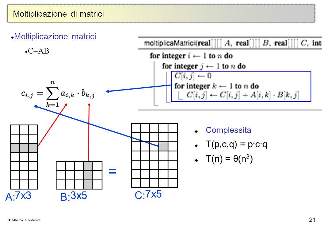 Moltiplicazione di matrici