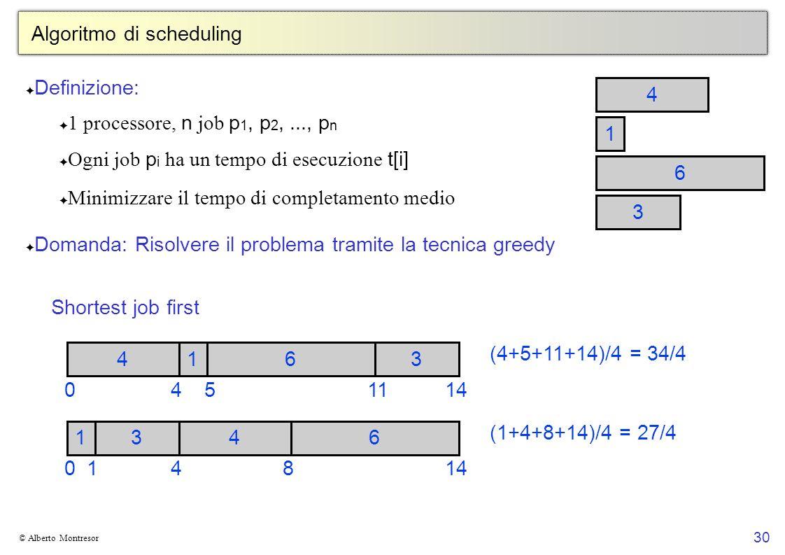 Algoritmo di scheduling