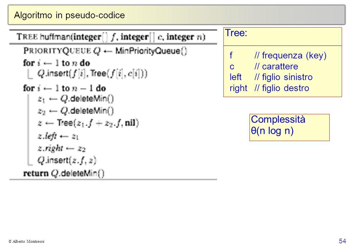 Algoritmo in pseudo-codice
