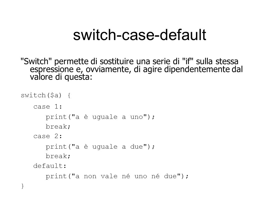 switch-case-default