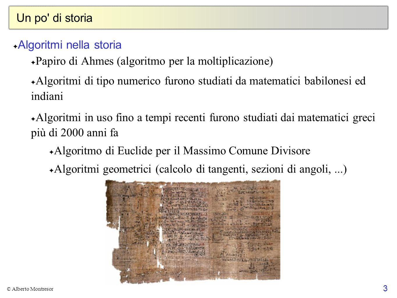 Algoritmi nella storia