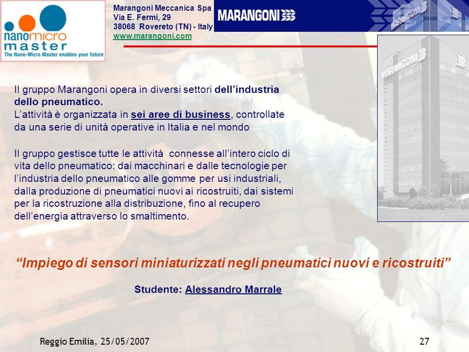 Studente: Alessandro Marrale