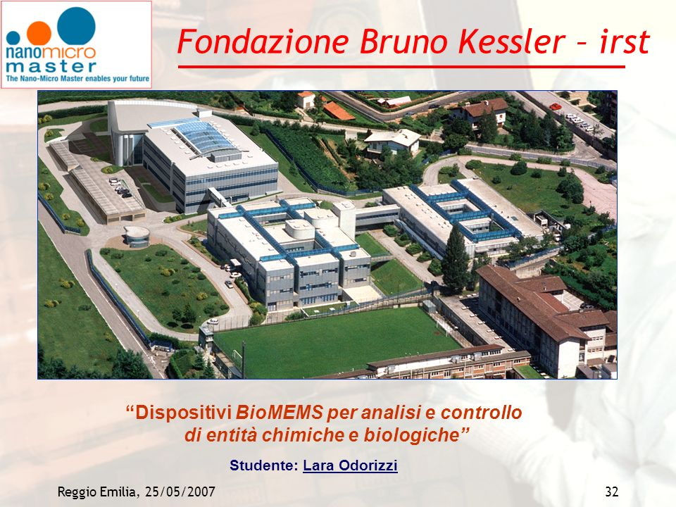 Fondazione Bruno Kessler – irst