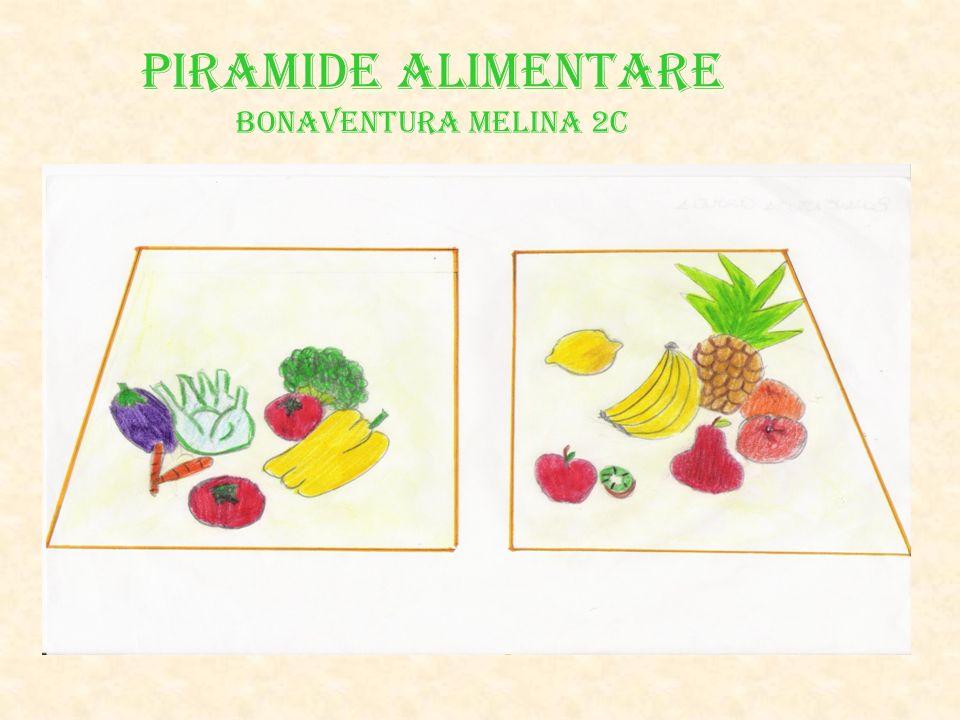 PIRAMIDE ALIMENTARE Bonaventura Melina 2C