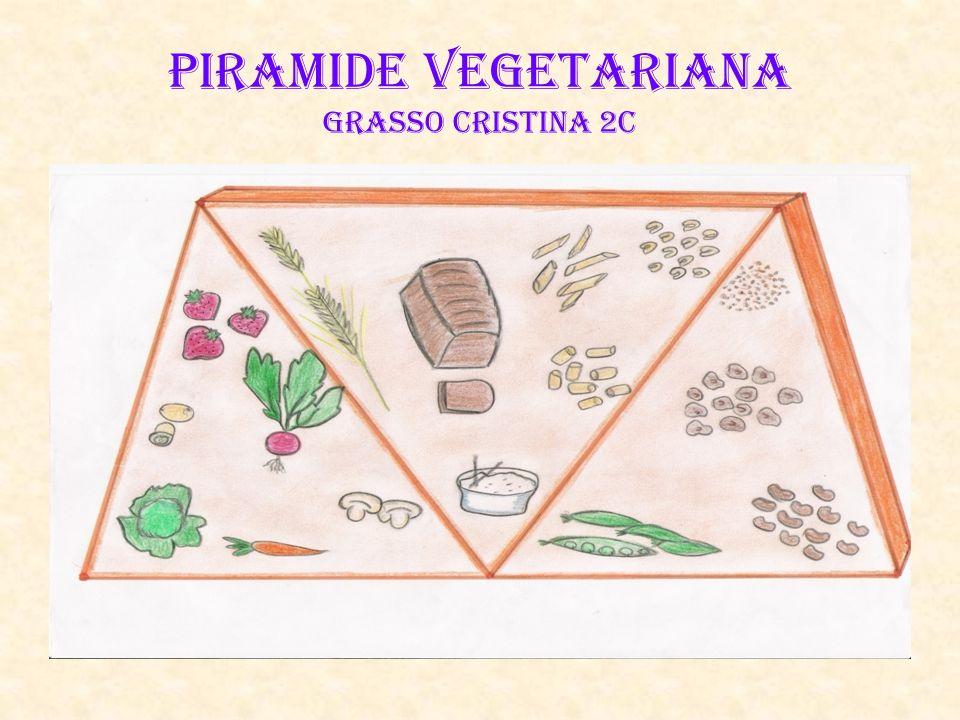 PIRAMIDE VEGETARIANA Grasso Cristina 2C