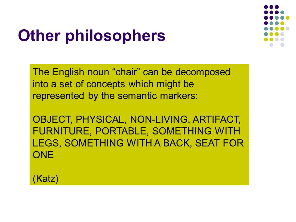Other philosophers