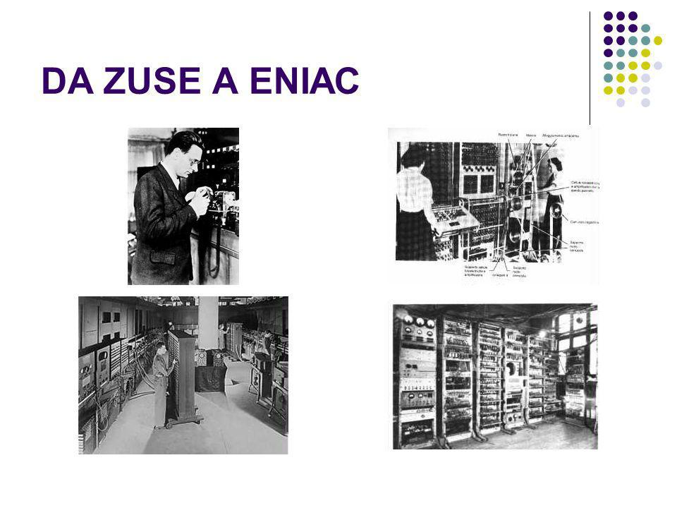 DA ZUSE A ENIAC