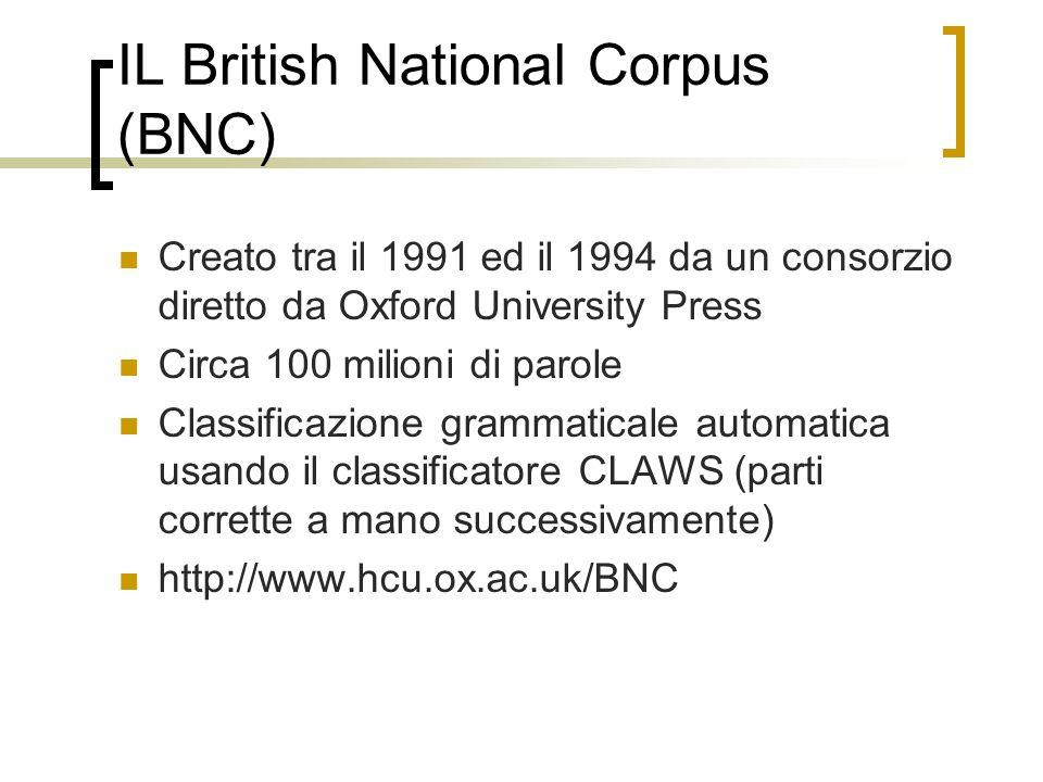 IL British National Corpus (BNC)
