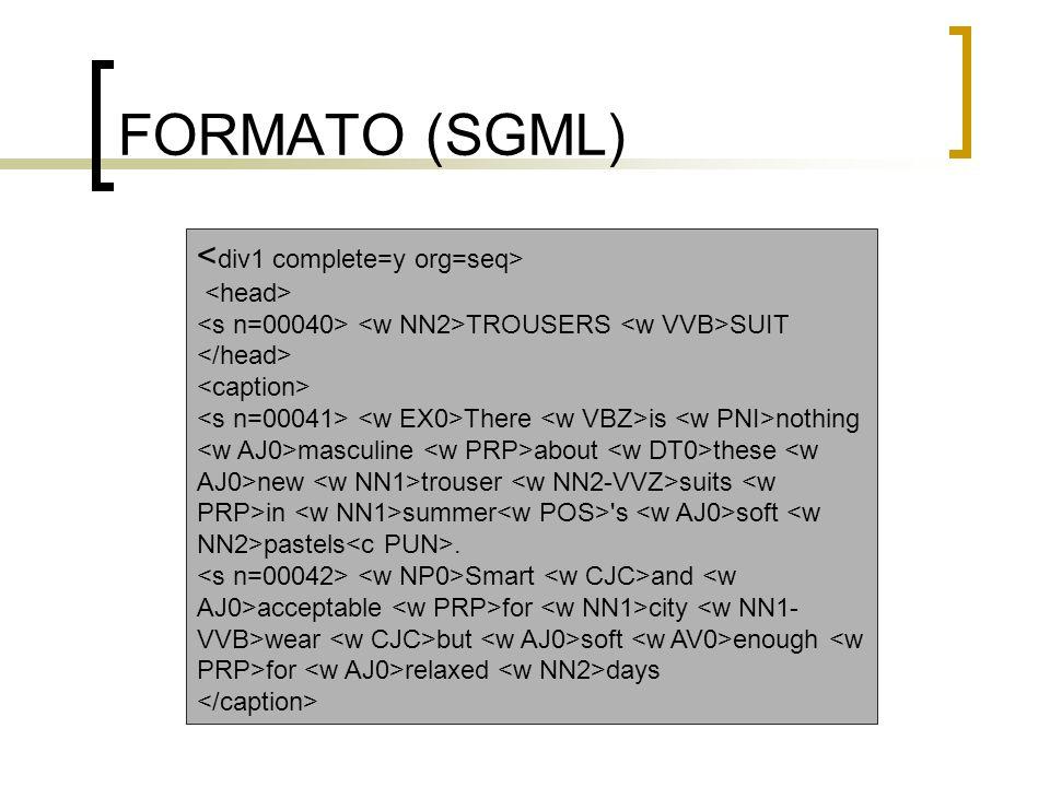 FORMATO (SGML)