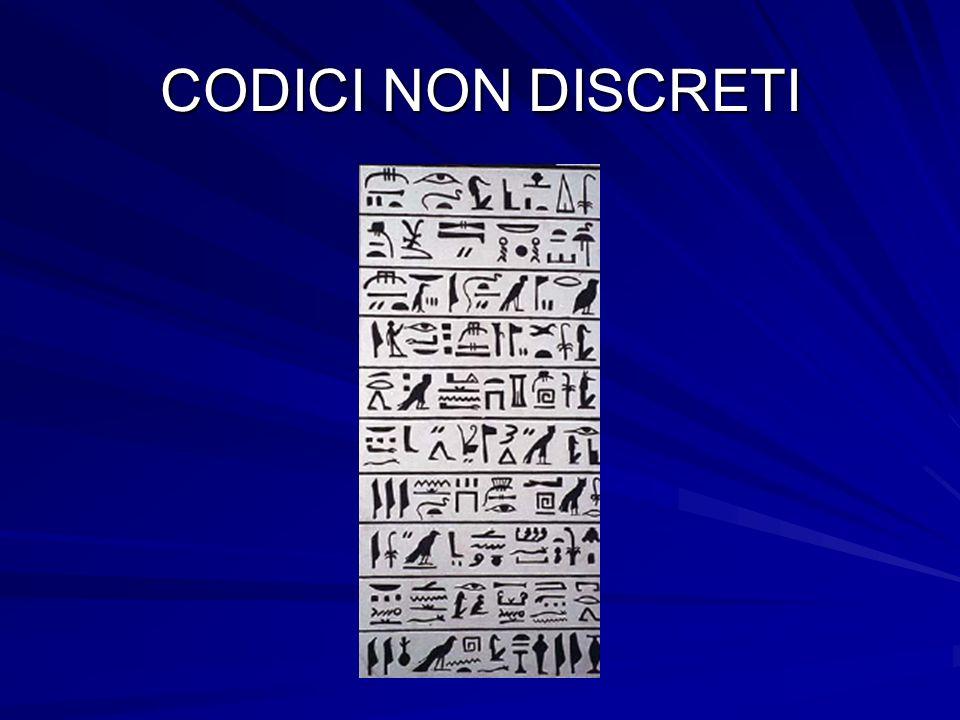 CODICI NON DISCRETI