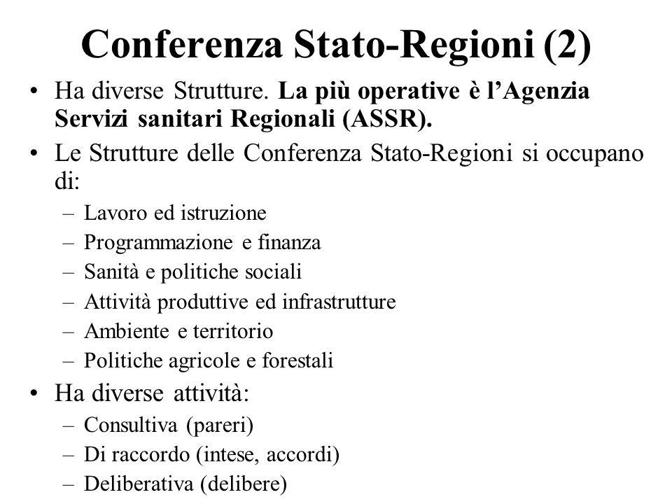 Conferenza Stato-Regioni (2)