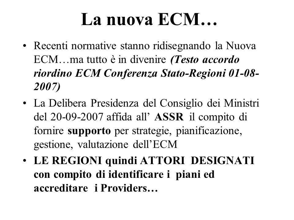 La nuova ECM…