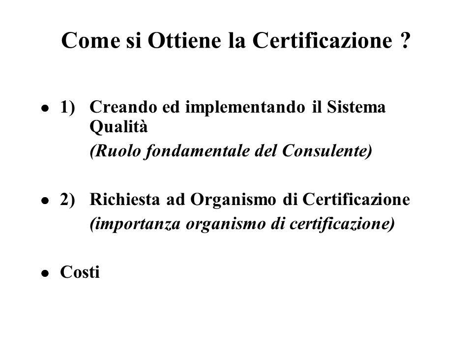 Come si Ottiene la Certificazione
