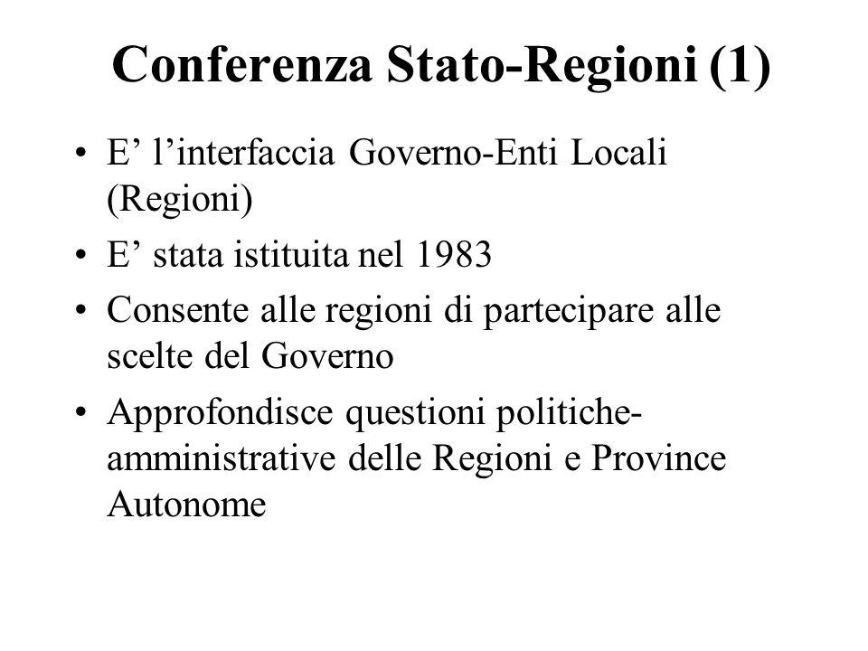 Conferenza Stato-Regioni (1)