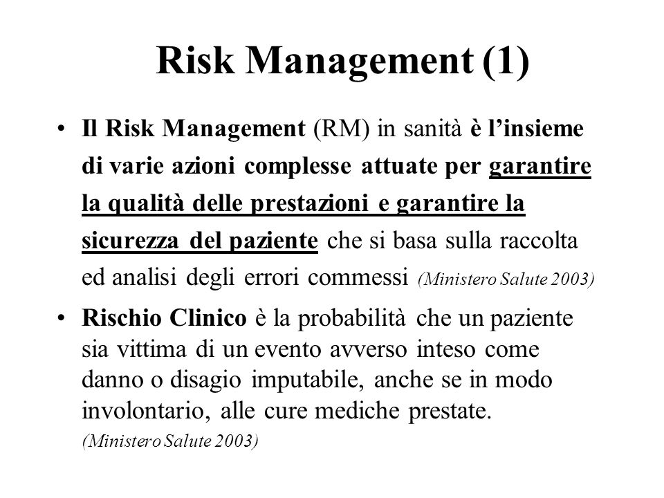 Risk Management (1)