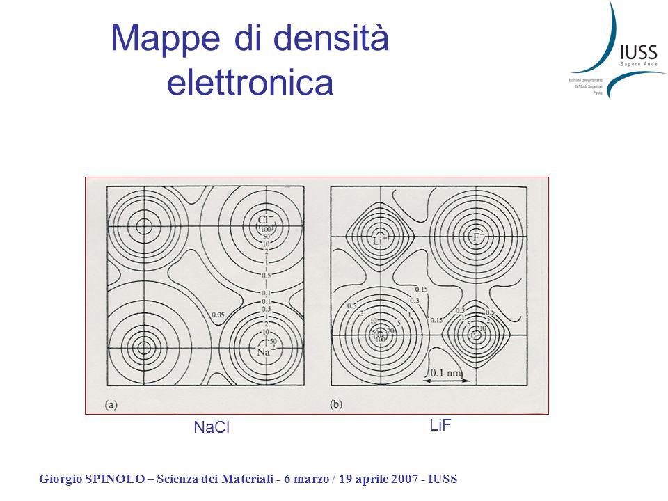 Mappe di densità elettronica