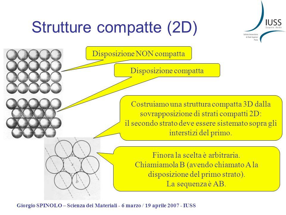 Strutture compatte (2D)
