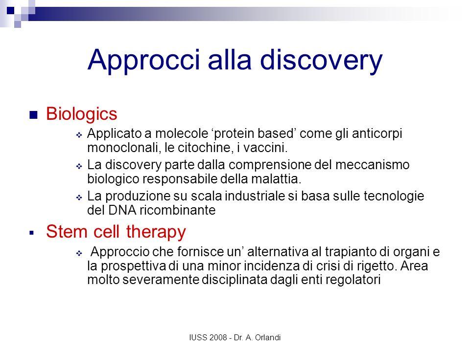 Approcci alla discovery