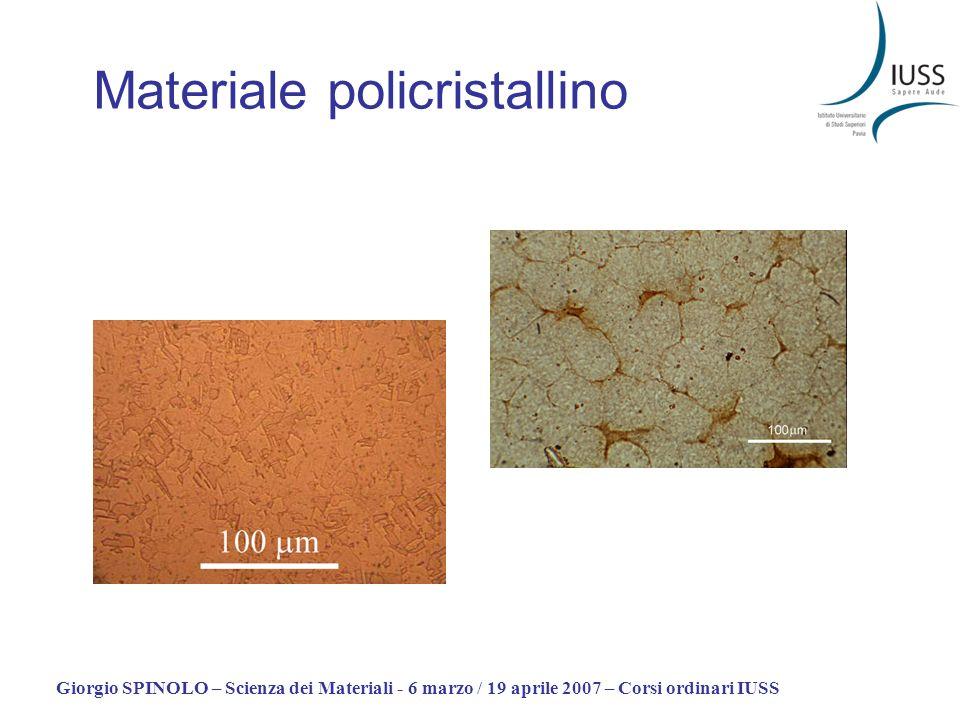 Materiale policristallino