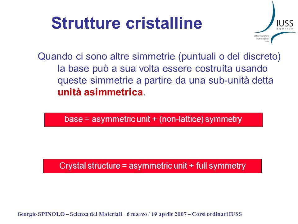 Strutture cristalline