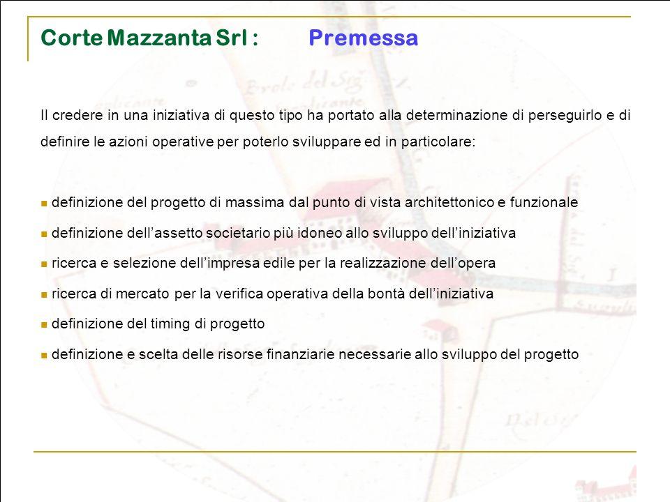 Corte Mazzanta Srl : Premessa