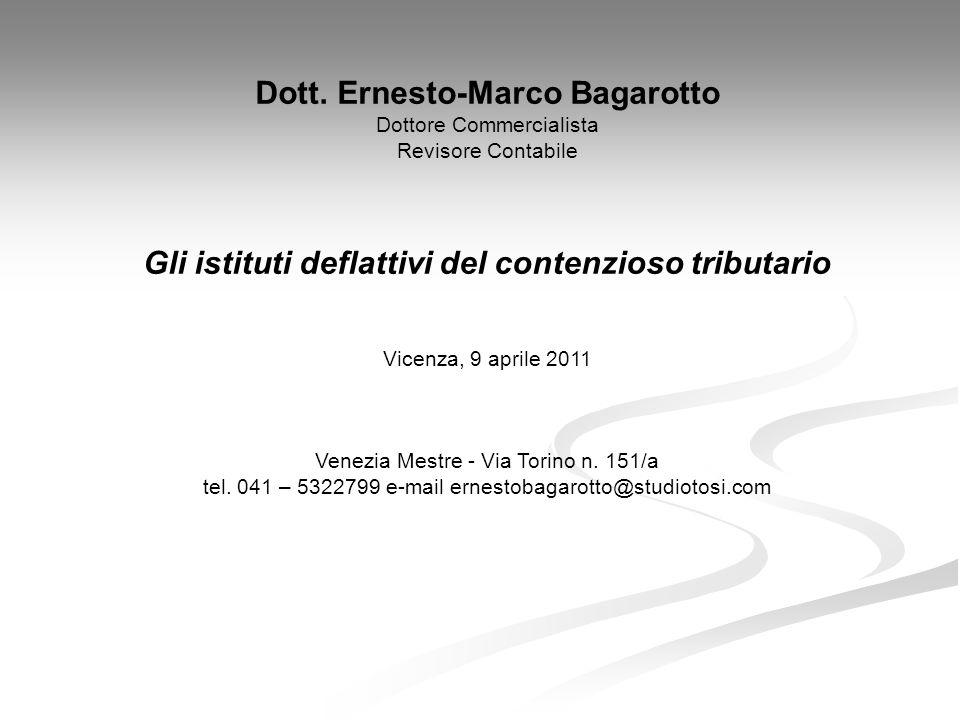 Dott. Ernesto-Marco Bagarotto