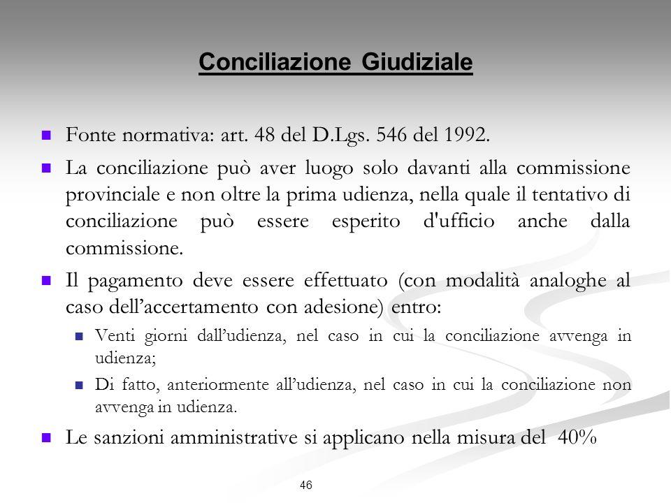 Conciliazione Giudiziale