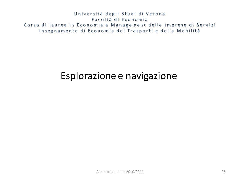 Esplorazione e navigazione