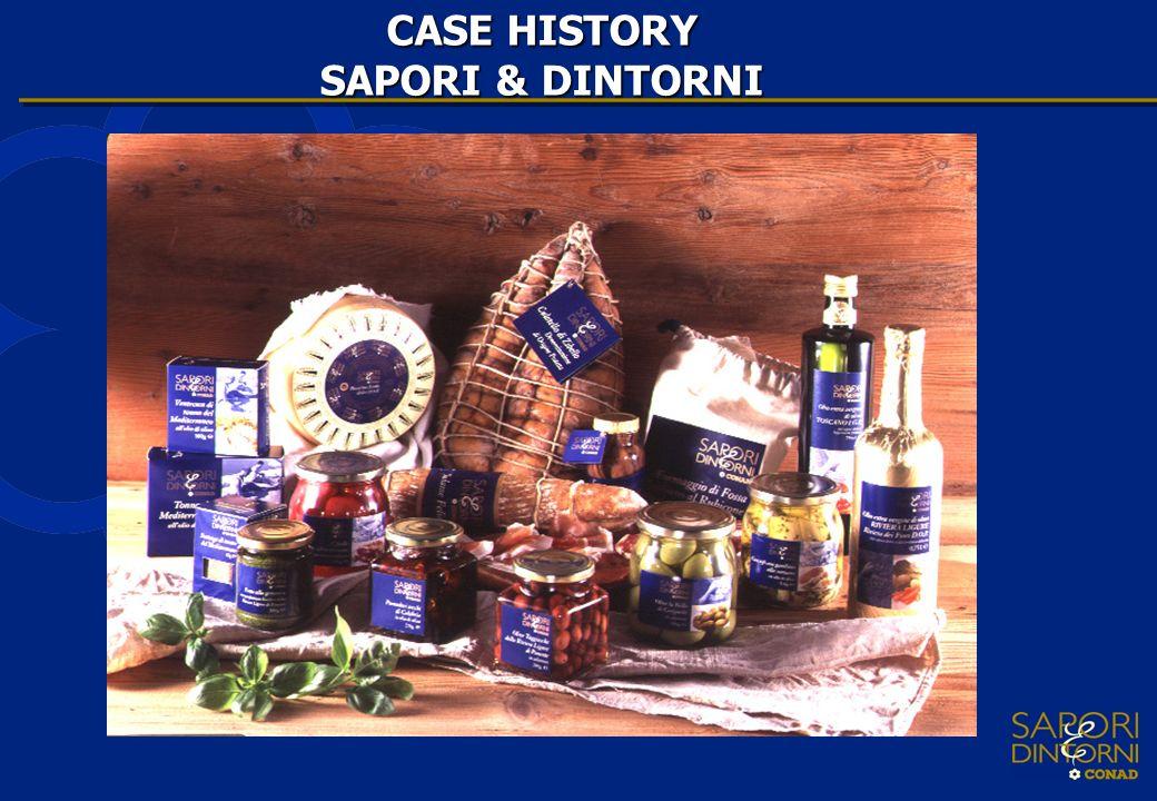 CASE HISTORY SAPORI & DINTORNI
