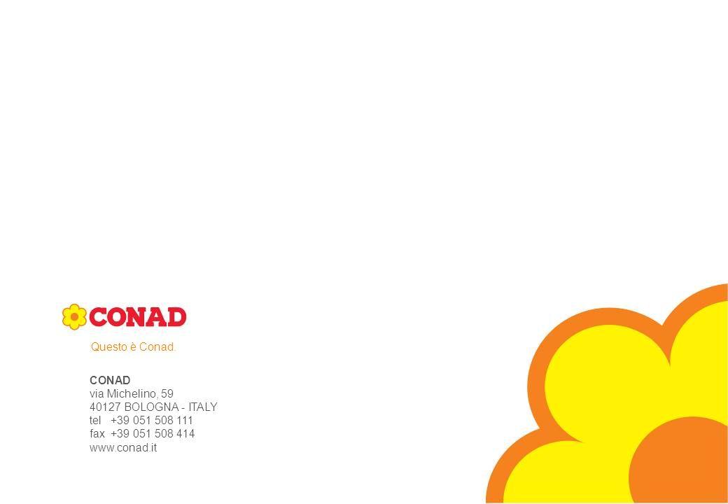 DIREZIONE MARCA COMMERCIALE - CONAD - 2007®
