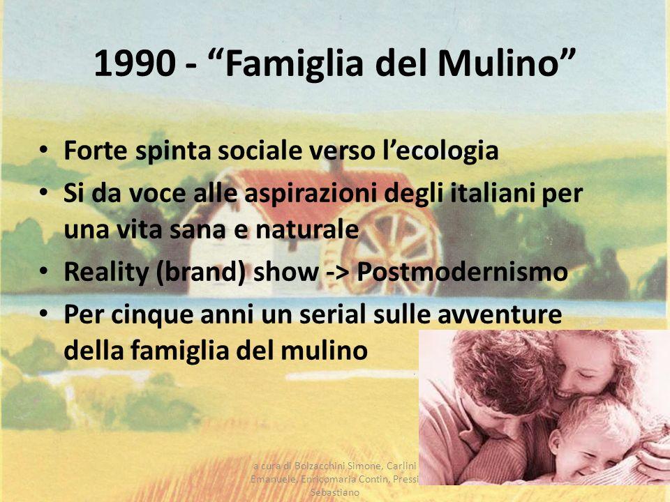 1990 - Famiglia del Mulino