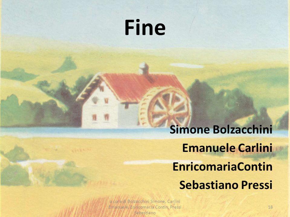 Fine Simone Bolzacchini Emanuele Carlini EnricomariaContin Sebastiano Pressi