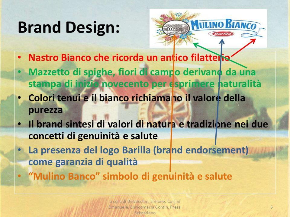 Brand Design: Nastro Bianco che ricorda un antico filatterio