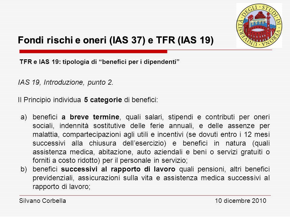 IAS 19, Introduzione, punto 2.