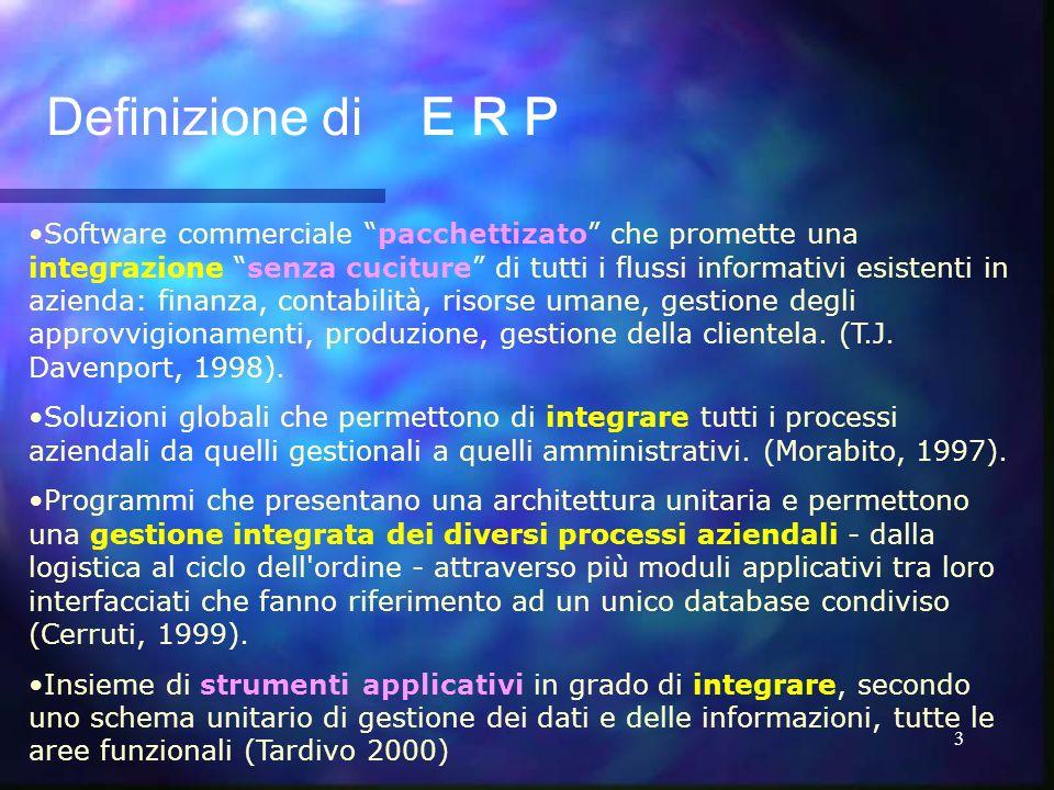 Definizione di E R P