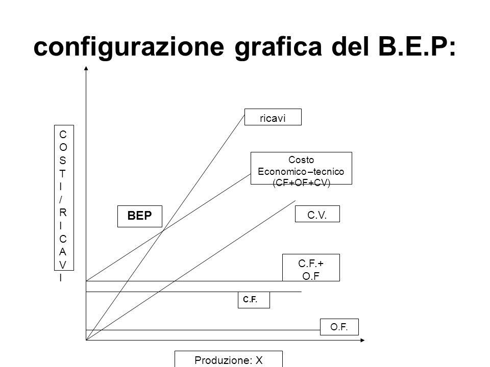 configurazione grafica del B.E.P: