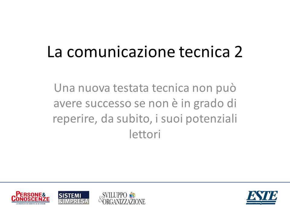 La comunicazione tecnica 2