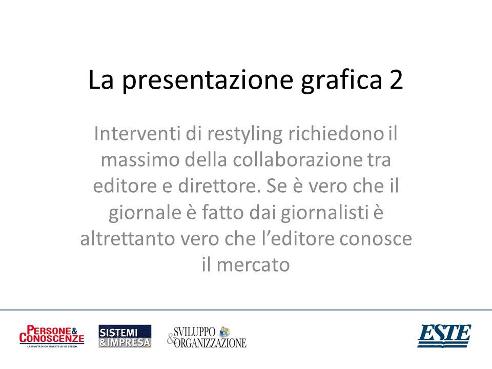 La presentazione grafica 2