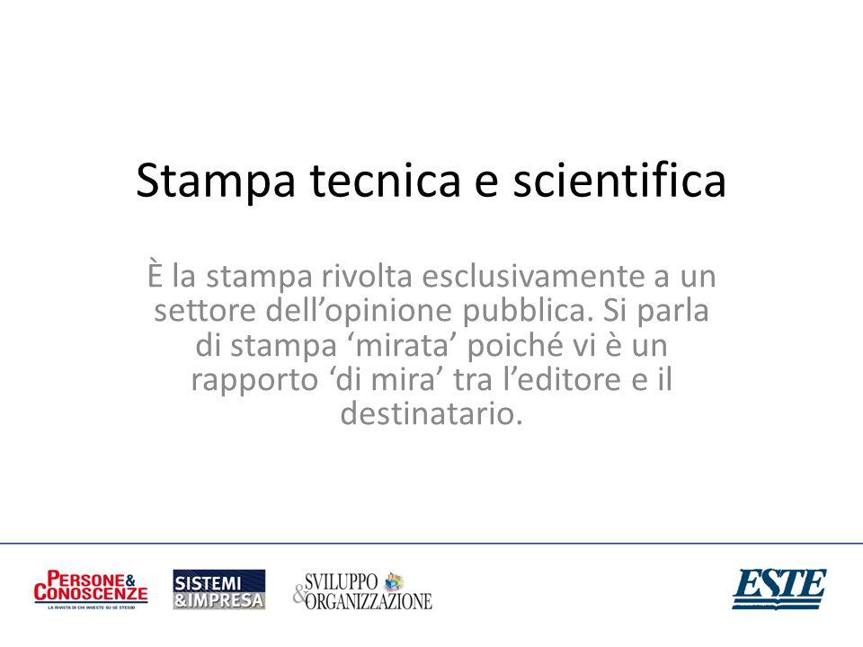 Stampa tecnica e scientifica