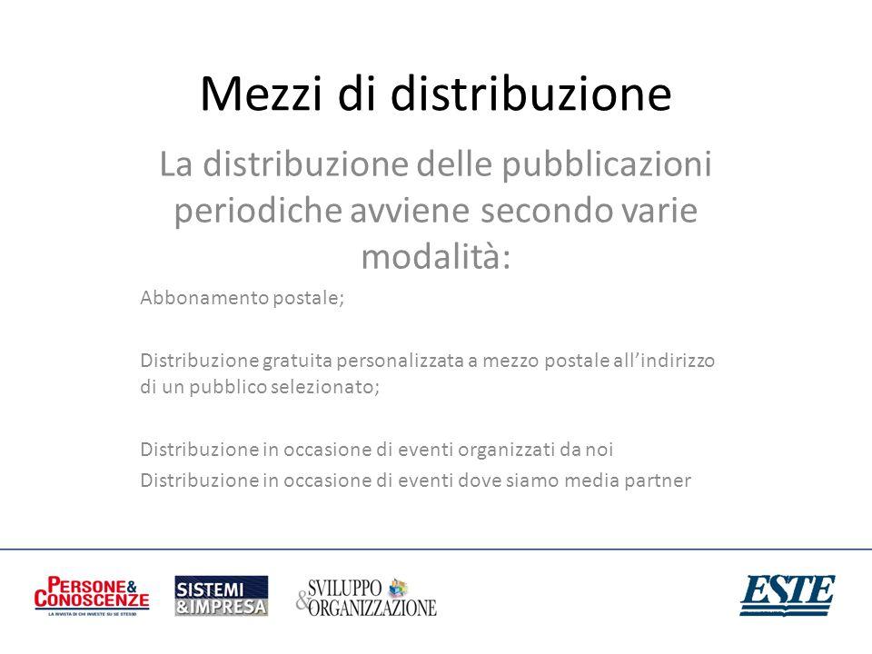 Mezzi di distribuzione