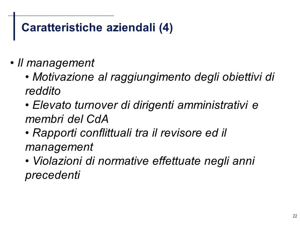 Caratteristiche aziendali (4)