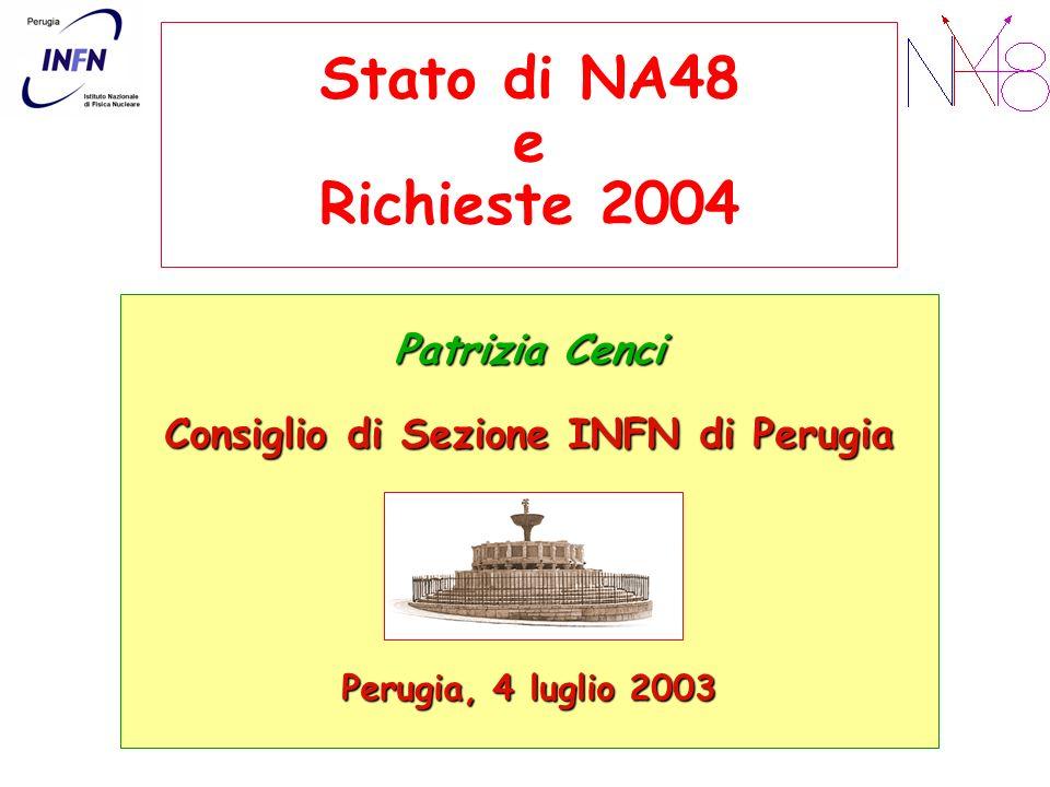 Consiglio di Sezione INFN di Perugia