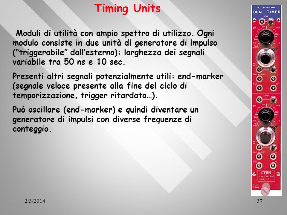 Timing Units