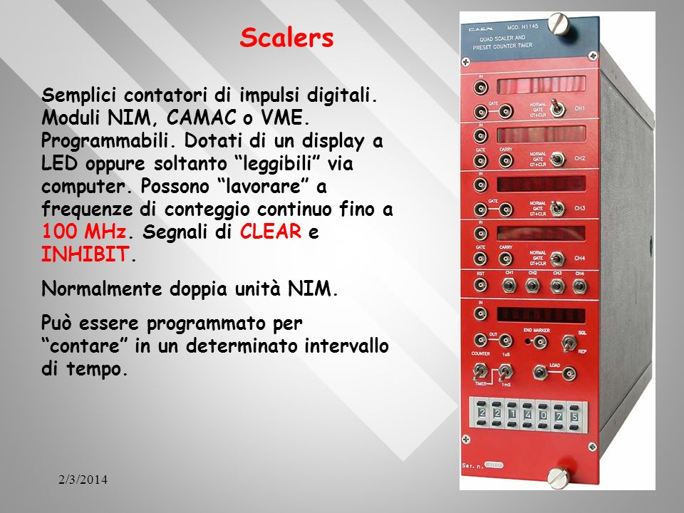 Scalers
