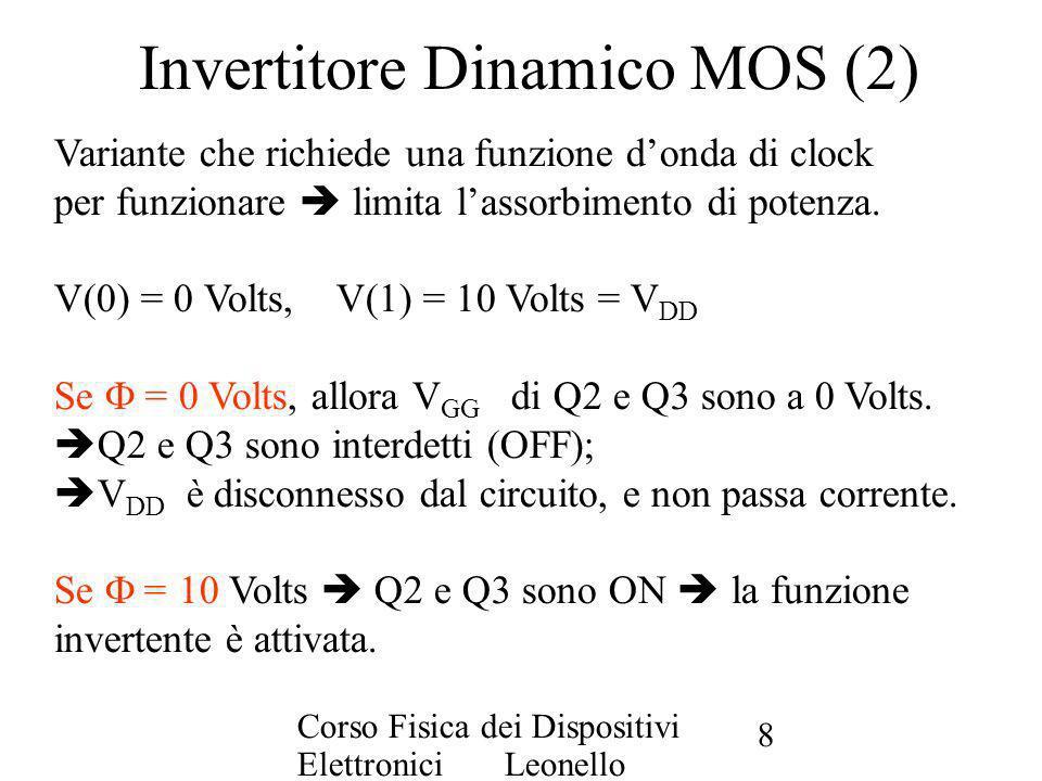 Invertitore Dinamico MOS (2)
