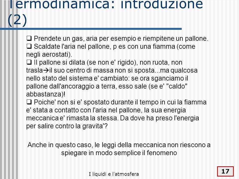 Termodinamica: introduzione (2)
